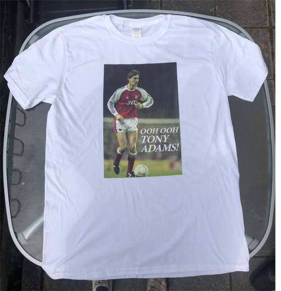 Ooh Ooh Tony Adams T-Shirt